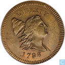 USA 1 / 2 cent 1796 Edwards copy