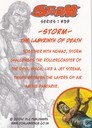 Trading cards - Storm series 1 - The Labyrinth of Death