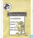 Tea bags and Tea labels - Migros - Switzerland - Fenchelfrüchte