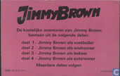 Strips - Jimmy Brown - Jimmy Brown als bokser