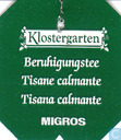 Tea bags and Tea labels - Migros - Switzerland - Albertus  - Beruhigungstee / Tisane calmante / Tisana calmante