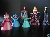 Sleeping beauty figure Playset