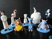 Ratatouille figure Playset