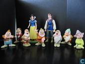 Snow white and the seven dwarfs Figure Playset
