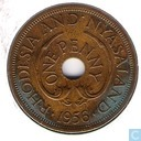 Rhodesia and Nyasaland 1 penny 1956