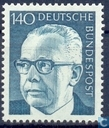 Postage Stamps - Germany, Federal Republic [DEU] - Heinemann, Dr.. Gustav