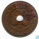 Rhodesia and Nyasaland 1 penny 1958