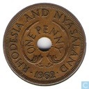 Rhodesia and Nyasaland 1 penny 1962