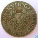 Chypre 20 cents 1983