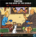 Tintin on the roof of the world
