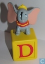 Dumbo block with letter D