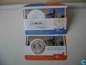 "Netherlands 5 euro 2011 (coincard - first day issue) ""100 years of the Mint Building"""