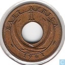 Oost-Afrika 1 cent 1961 (H)