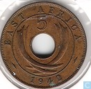Oost-Afrika 5 cents 1942
