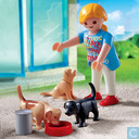 Playmobil Woman with Puppies