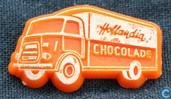 Hollandia Chocolade (DAF truck) [orange