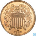 U.S. 2 cents 1869