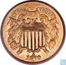 U.S. 2 cents 1870