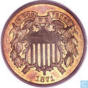 United States 2 cents 1871
