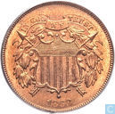U.S. 2 cents 1868
