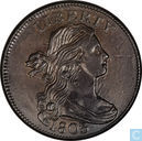 Verenigde Staten 1 cent 1803 large date large fraction