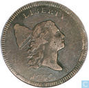 USA 1 / 2 cent 1797 Plain Edge