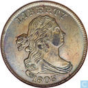 United States ½ cent 1803