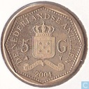 Netherlands Antilles 5 gulden 2004