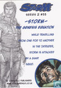 Trading cards - Storm series 2 - The Genesis Equation