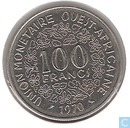 West African States 100 francs 1970