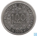 West African States 100 francs 1975