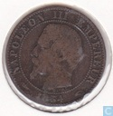 France 5 centimes 1854 (A)