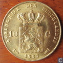 Netherlands 10 gulden 1887