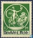 "Godin and shield marked ""Deutsches Reich"""