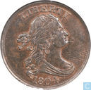 "USA 1 / 2 cent 1804 ""spiked chin"""