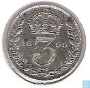 United Kingdom 3 pence 1899