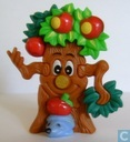 Hedgehog puzzle tree with