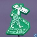 Hollandia Chocolade en suikerwerken [white on green]