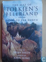 The Map of Tolkien's Beleriand and the Land to the North