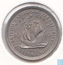 British Caribbean Territories 10 cents 1955