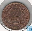 British Caribbean Territories 2 cents 1965