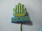 Frionor [yellow on blue]