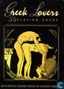 Greek Lovers 54 playing cards with Erotic Scenes from the Ancient Greece