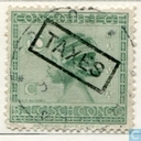 """TAXES\"" Postage Stamps issued 1923 - Type \""Vloors\"""