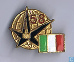 Pin Italian delegation Expo 58