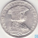 "Autriche 50 schilling 1969 ""400th Anniversary of the death of Maximilian I"""
