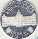 "Autriche 50 schilling 1972 ""100th Anniversary of the Institute of Agriculture"""