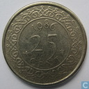 Suriname 25 cent 1986