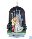 Cinderella and Prince Charming light-up ornament
