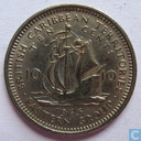 British Caribbean Territories 10 cents 1965
